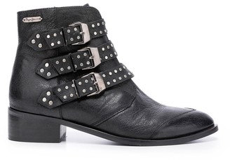Pepe Jeans Chiswick Lessy Ankle Boots in Leather Mix