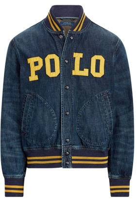 Ralph Lauren Polo Denim Baseball Jacket