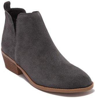 Steve Madden Salado Perforated Suede Bootie