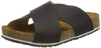 Haflinger Mio, Women's T-Bar T-Bar Sandals, Schwarz (Schwarz 780), (40 EU)