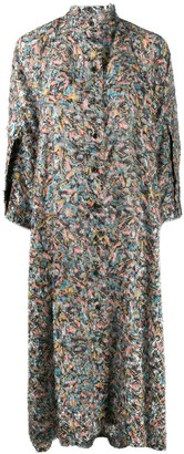 Henrik Vibskov Floral Belted Dress