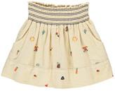 Bellerose Sale - Funny Embroidered Smock Skirt