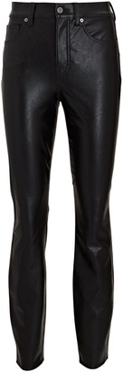 Veronica Beard Debbie Vegan Leather Skinny Pants