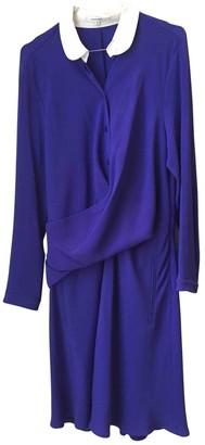Carven Purple Polyester Dresses