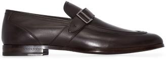 Ermenegildo Zegna Buckle Strap Loafers