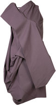 Rick Owens high-neck layered top - women - Cotton/Spandex/Elastane - 38