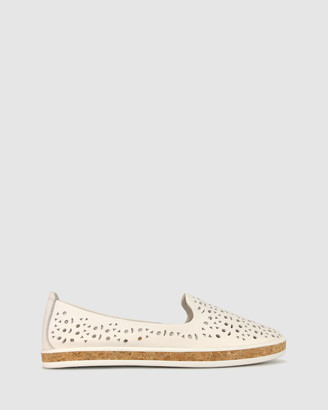 Airflex Geneva Perforated Leather Loafers