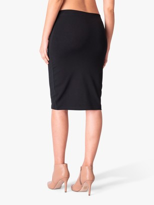 Séraphine Seraphine Cathy Bodycon Maternity Pencil Skirt, Black