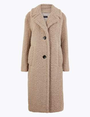 Marks and Spencer Faux Fur Teddy Coat
