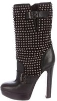 Christian Louboutin Stud Ankle Boots