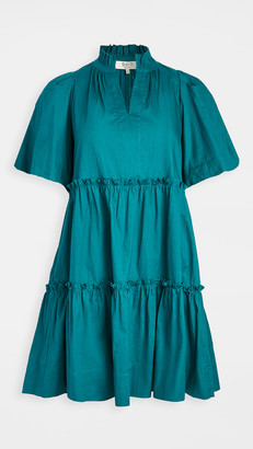 Sea Tivoli Crinkle Short Sleeve Dress
