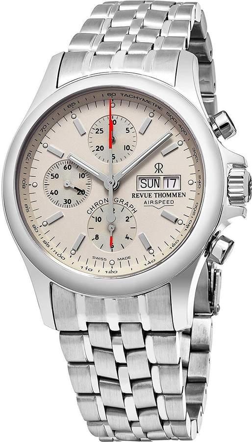 Revue Thommen Men's Airspeed Heritage 40.5mm Automatic Analog Watch 17081.6132