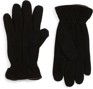 Nordstrom Men's Shop Suede Thermolite(R) Gloves