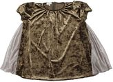 Paade Velvet & Chiffon Dress
