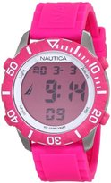 Nautica Unisex N09930G NSR 100 Watch with Pink Band