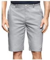 Calvin Klein Mens Twill Casual Walking Shorts coolsteel 40