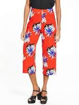 Glamorous Printed Crop Trousers