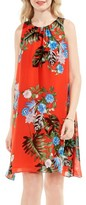 Vince Camuto Women's Havana Tropical A-Line Dress