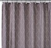 Bed Bath & Beyond Wellington 72-Inch Wx 96-Inch LShower Curtain in Grey