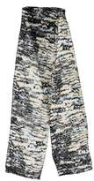 Balenciaga Patterned Silk-Blend Scarf