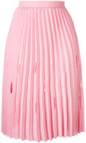 Marco De Vincenzo pleated midi skirt - women - Polyester - 40