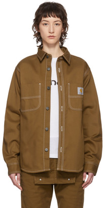 Carhartt Work In Progress Brown Great Master Shirt
