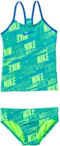 Nike Swimwear Girls' Print Raceback Tankini Two Piece Swimsuit (7yrs14yrs) - 8140050