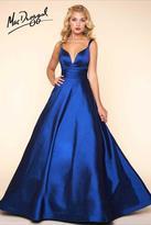 Mac Duggal Ballgowns - 65514 Slip Gown In Midnight Blue
