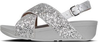 FitFlop Lulu Glitter Back-Strap Sandals