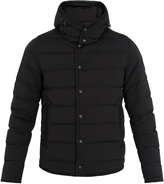 Moncler Nazaire detachable-hood quilted-down coat