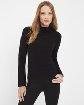 White House Black Market Bell-Sleeve Turtleneck Sweater