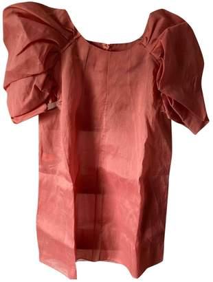 Marni Pink Silk Tops