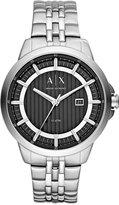 Armani Exchange A|X Men's Stainless Steel Bracelet Watch 44mm AX2260