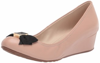 Cole Haan womens Tali Soft Bow Wedge (40mm) Pump