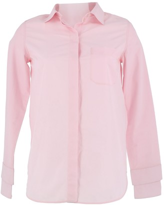 Courreges Pink Cotton Top for Women