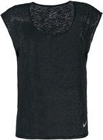 Nike scoop neck cap sleeve T-shirt