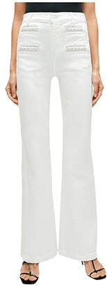 7 For All Mankind Georgia Braided Welt in Prince Street (Prince Street) Women's Jeans