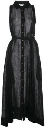 Lisa Marie Fernandez sleeveless sheer beach dress