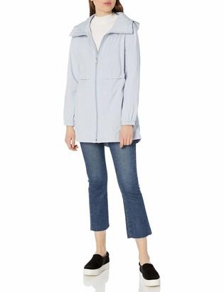 Cole Haan Women's Sporty Packable Rain Jacket