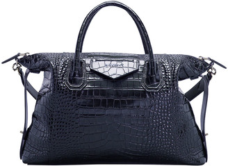 Givenchy Crocodile Embossed Antigona Soft Medium