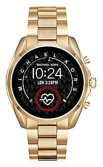 Michael Kors Women's Access Bradshaw Goldtone Stainless Steel Bracelet Touchscreen Smart Watch
