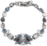 Givenchy Clear and Color Crystal Link Bracelet
