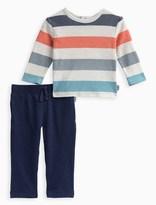 Splendid Baby Boy Reverse Print Top with Pant Set