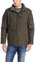 Izod Men's Ultra Durable Fleece Lined Rip-Stop Jacket
