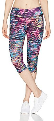 Jockey Women's Pleated Floral Judo Legging