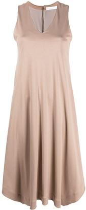 Fabiana Filippi V-neck cotton midi dress