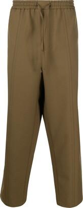 Jil Sander High-Rise Straight-Leg Trousers