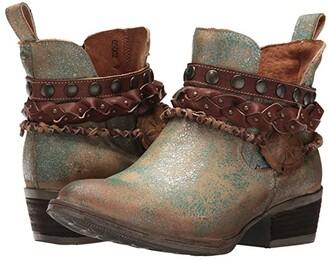 Corral Boots Q5002 (Green) Cowboy Boots