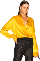 Haider Ackermann Classic Shirt in Yellow.