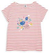 Petit Bateau Toddler's & Little Girl's Striped T-Shirt